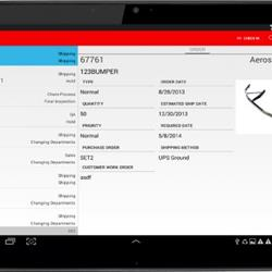 Mobile WIP Screen